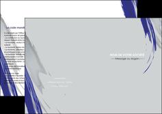 modele depliant 2 volets  4 pages  texture contexture structure MLGI51453