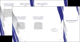 imprimerie depliant 4 volets  8 pages  texture contexture structure MLGI51461