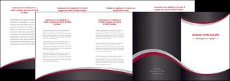 creer modele en ligne depliant 4 volets  8 pages  texture contexture structure MLGI51485