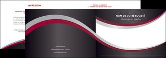 personnaliser modele de depliant 2 volets  4 pages  texture contexture structure MIF51511