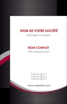 Commander Carte 3 Volets 15x15 Modele Graphique Pour Devis Dimprimeur De Visite