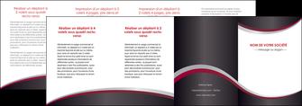 impression depliant 4 volets  8 pages  texture contexture structure MLGI51531