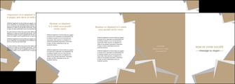 exemple depliant 4 volets  8 pages  texture contexture structure MLGI51537
