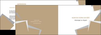 impression depliant 2 volets  4 pages  texture contexture structure MLGI51563