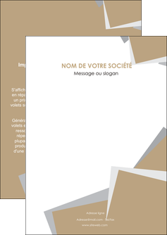 modele en ligne flyers texture contexture structure MIF51577