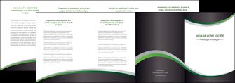 impression depliant 4 volets  8 pages  texture contexture structure MIF51649