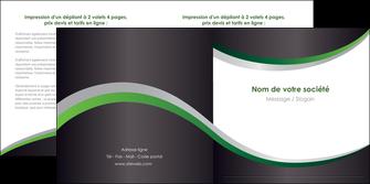 personnaliser modele de depliant 2 volets  4 pages  texture contexture structure MIF51661