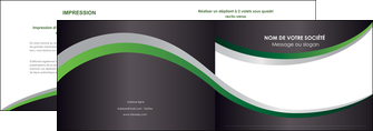 faire depliant 2 volets  4 pages  texture contexture structure MIF51673