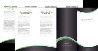 creer modele en ligne depliant 4 volets  8 pages  texture contexture structure MIF51693