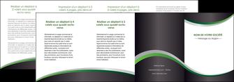 imprimer depliant 4 volets  8 pages  texture contexture structure MIF51695