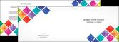 creer modele en ligne depliant 2 volets  4 pages  arc en ciel cube colore MLGI51715