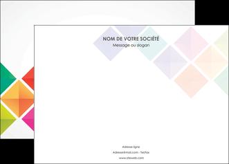 creer modele en ligne affiche arc en ciel cube colore MLGI51717