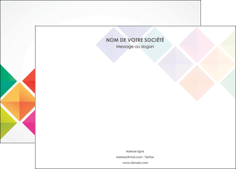 creer modele en ligne affiche arc en ciel cube colore MLIG51717