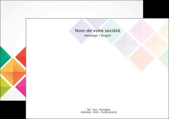 modele en ligne flyers arc en ciel cube colore MLGI51721