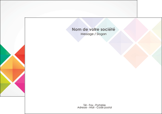 modele en ligne flyers arc en ciel cube colore MLIG51721