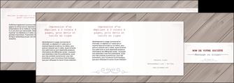 imprimerie depliant 4 volets  8 pages  texture contexture structure MIF52555