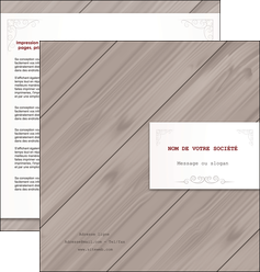 personnaliser modele de depliant 2 volets  4 pages  texture contexture structure MIF52587