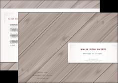 imprimerie depliant 2 volets  4 pages  texture contexture structure MIF52599
