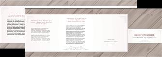 creer modele en ligne depliant 4 volets  8 pages  texture contexture structure MIF52601