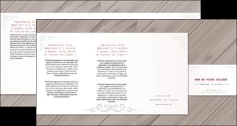 creation graphique en ligne depliant 4 volets  8 pages  texture contexture structure MIF52605