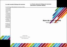 exemple depliant 2 volets  4 pages  texture contexture fond MLIG52757