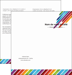 cree depliant 2 volets  4 pages  texture contexture fond MLIG52765