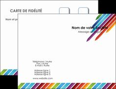 Impression prix carte de visite 350g quadri recto verso pelliculage brillant recto  Carte commerciale de fidélité papier à prix discount et format Carte de visite Double - Portrait