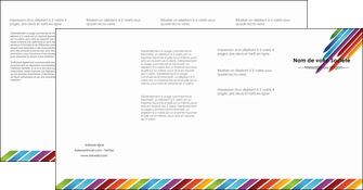 realiser depliant 4 volets  8 pages  texture contexture fond MLIG52791