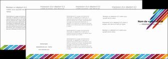 imprimer depliant 4 volets  8 pages  texture contexture fond MIF52793