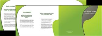 impression depliant 4 volets  8 pages  texture contexture structure MLGI52923