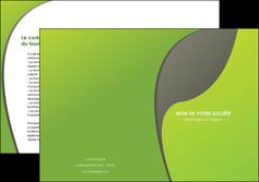 personnaliser maquette depliant 2 volets  4 pages  texture contexture structure MLGI52927