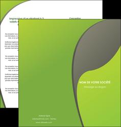 exemple depliant 2 volets  4 pages  texture contexture structure MLGI52937