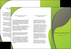 personnaliser modele de depliant 3 volets  6 pages  texture contexture structure MLGI52939