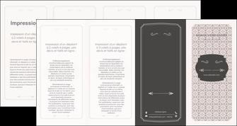 exemple depliant 4 volets  8 pages  texture contexture fond MLGI52973