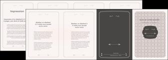 maquette en ligne a personnaliser depliant 4 volets  8 pages  texture contexture fond MLGI52975
