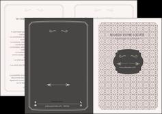 personnaliser modele de depliant 2 volets  4 pages  texture contexture fond MLGI52979