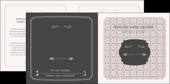 imprimerie depliant 2 volets  4 pages  texture contexture fond MLGI52987