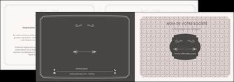creer modele en ligne depliant 2 volets  4 pages  texture contexture fond MLGI53001