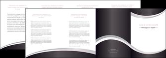 faire modele a imprimer depliant 4 volets  8 pages  texture contexture design MIF53297
