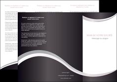 maquette en ligne a personnaliser depliant 3 volets  6 pages  texture contexture design MLIG53313