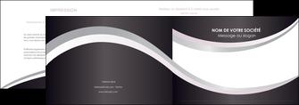 personnaliser maquette depliant 2 volets  4 pages  texture contexture design MIF53321