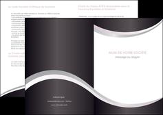 realiser depliant 2 volets  4 pages  texture contexture design MIF53333