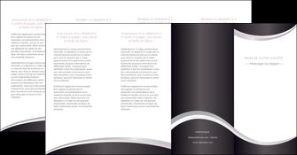 creer modele en ligne depliant 4 volets  8 pages  texture contexture design MLIG53341