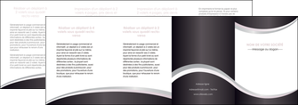 faire depliant 4 volets  8 pages  texture contexture design MLIG53343