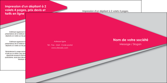personnaliser modele de depliant 2 volets  4 pages  texture contexture structure MLGI53419