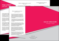 personnaliser modele de depliant 3 volets  6 pages  texture contexture structure MLIG53423