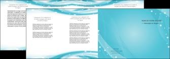 realiser depliant 4 volets  8 pages  texture contexture structure MLIG53601