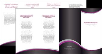 cree depliant 4 volets  8 pages  texture contexture structure MLGI53613