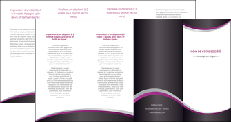 cree depliant 4 volets  8 pages  texture contexture structure MIF53613