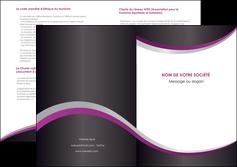 modele en ligne depliant 2 volets  4 pages  texture contexture structure MIF53617